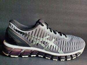 outlet store 6557b 36e1e Details about Asics Gel Quantum 360 2 Mens Size 8.5 Running Shoes Black  White Grey T5J1Q