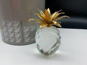 Swarovski-Figurine-010044-Large-Pineapple-4-1-8in-Ob-amp-Zertifikat-Top-Condition