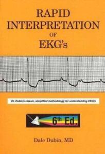 Rapid interpretation of ekgs by dale dubin 2000 paperback 6th rapid interpretation of ekgs by dale dubin 2000 paperback 6th edition fandeluxe Images