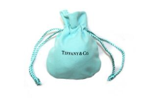 Image Is Loading Tiffany Amp Co Cloth Suede Drawstring Travel Mini