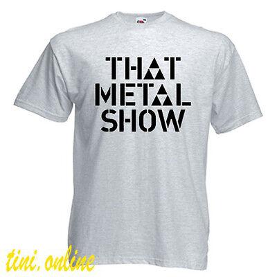 That Metal Show VH1 Classic TV Series Logo Men/'s White T-Shirt Size S to 3XL