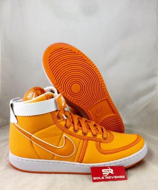 65bb50af02ed46 New! Back Back Back to the Future Vandal High Supreme DOC BROWN Orange  Shoes AH8605