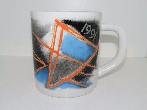Porcelæn, Royal Copenhagen  Stort årskrus 1991, Royal