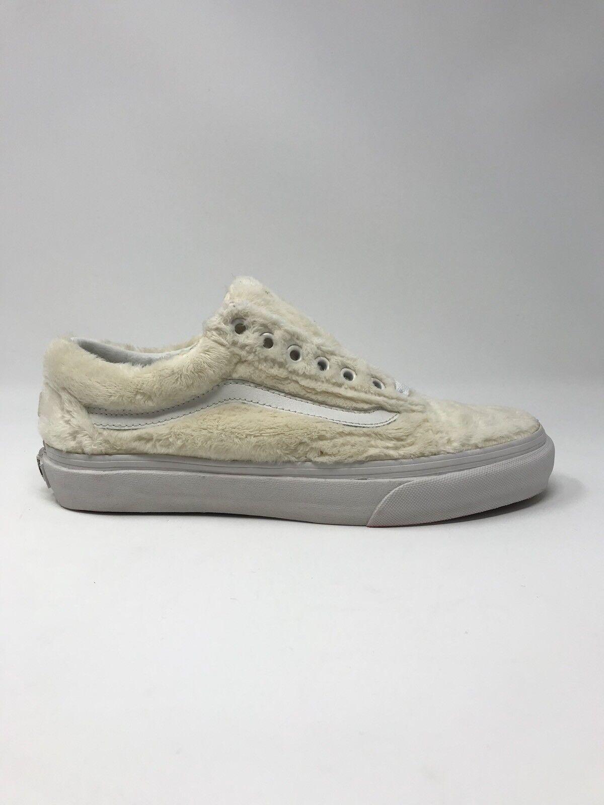 8ba02fb962d482 VANS Old Skool Sherpa Turtledove Women s Skate Shoes Size 8.5 for sale  online