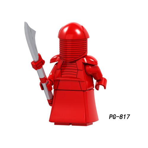 Lego Star Wars Minifigures Blocks Clone Darth Vader Kylo Ren Mandalorian Yoda