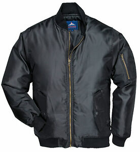 PORTWEST-FLYING-MILITARY-ARMY-SECURITY-DOORMAN-PILOT-BIKER-BOMBER-JACKET-PW010