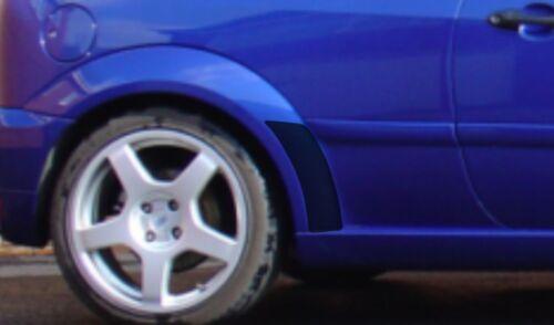 Cabe FORD FOCUS RS Mk1 claro Protector de chip de piedra arco trasero Película De Protección De Pintura