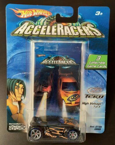 BONUS CD SHIPPED FREE Hot Wheels Acceleracers 2005 HIGH VOLTAGE Teku 7//9 1st Ed