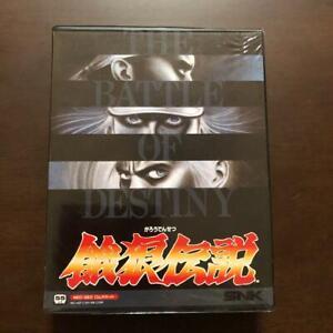 Garo-Densetsu-Fatal-Fury-NeoGeo-AES-SNK-Used-Japan-Fighting-Boxed-Tested-1991
