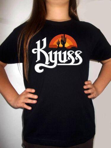 kyuss logo t-shirt BLACK kids shirt clothing toddler T-shirt for children