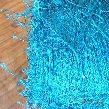 FIL A TRICOTER OU CROCHETER VERT  FRANGE 0,16 KG (avec cône) / knotting yarn
