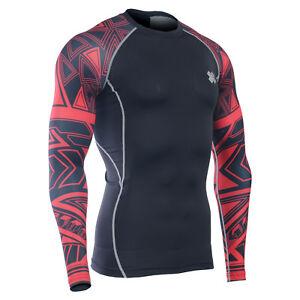 67150333e07 CPD_B2 FIXGEAR compression base layer shirt design printed training ...
