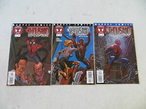 Details about SPIDER-MAN TANGLED WEB THE THOUSAND 3 ISSUE COMIC SET 1-3  GARTH ENNIS MARVEL