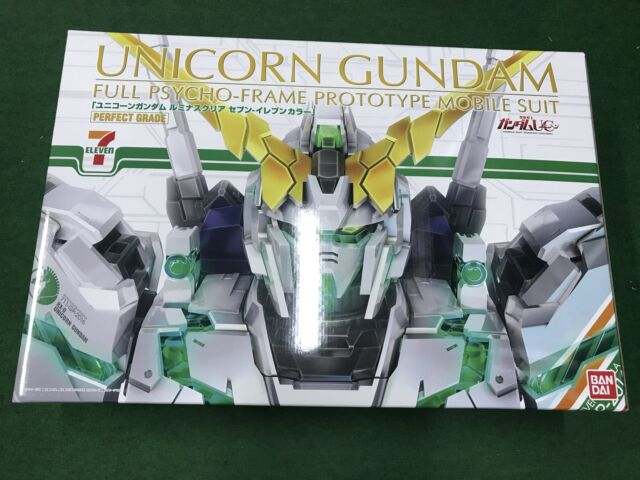 PG 1/60 RX-0 Unicorn Gundam Luminous Clear (Seven-Eleven ...