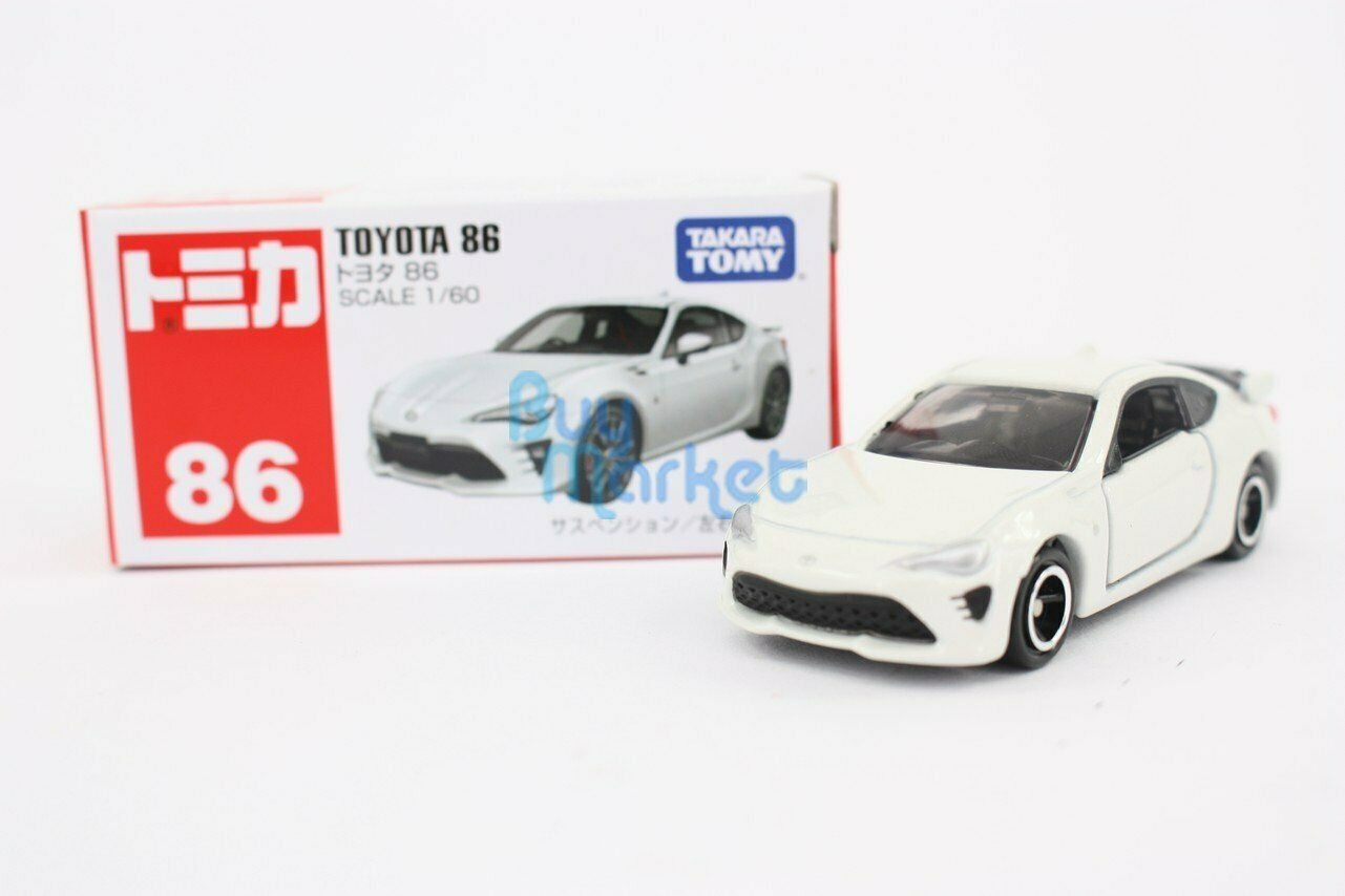 TOMICA #86 TOYOTA 86 1//60 SCALE NEW IN BOX