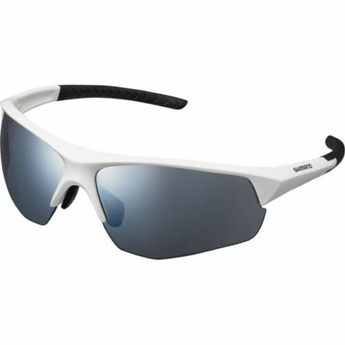 Shimano Twinspark Glasses Smoke Silver Mirror Lens White