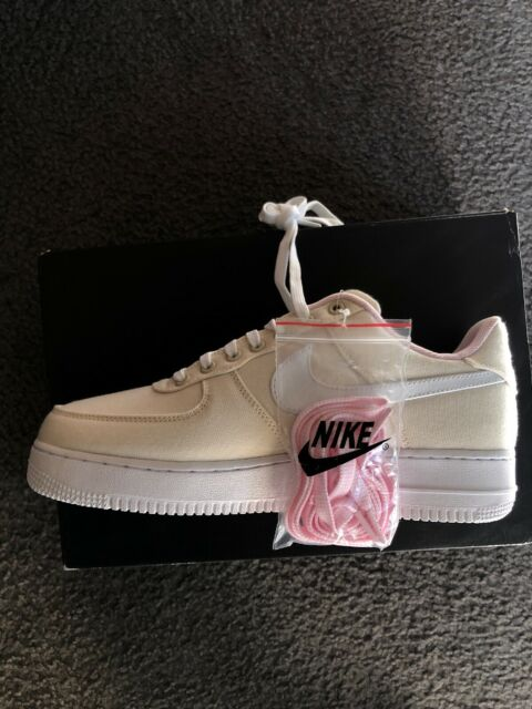 Nike Air Force 1 Low '07 LV8 QS Miami Vice Linen Pink Size 9.5 812297 100