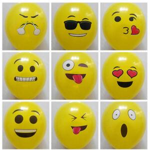 10pcs-Cute-Emoji-Face-Balloons-Festival-Wedding-Birthday-Party-Xmas-Decoration