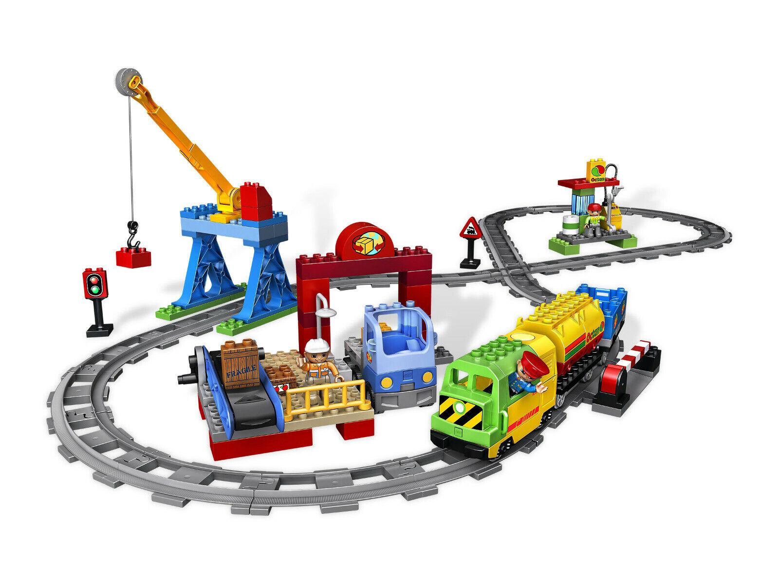 LEGO Duplo Eisenbahn Super Set (5609) komplett mit Original Verpackung.