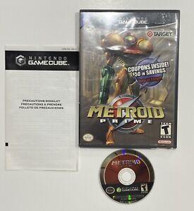 Metroid Prime (Nintendo GameCube, 2002) - Target Edition - Tested -no Manual