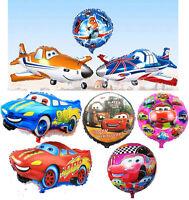 Disney Planes and Pixar Cars Supershape Foil Balloons Decoration Boys Party