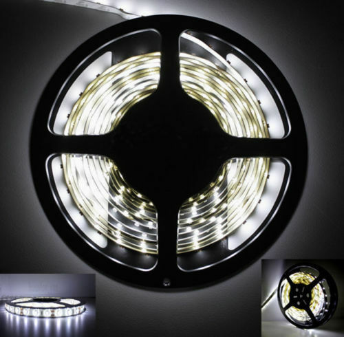 SPECIAL OFFER Super Cool White 5M 300 LEDs 3528 Flexible Light LED Strip 12V New