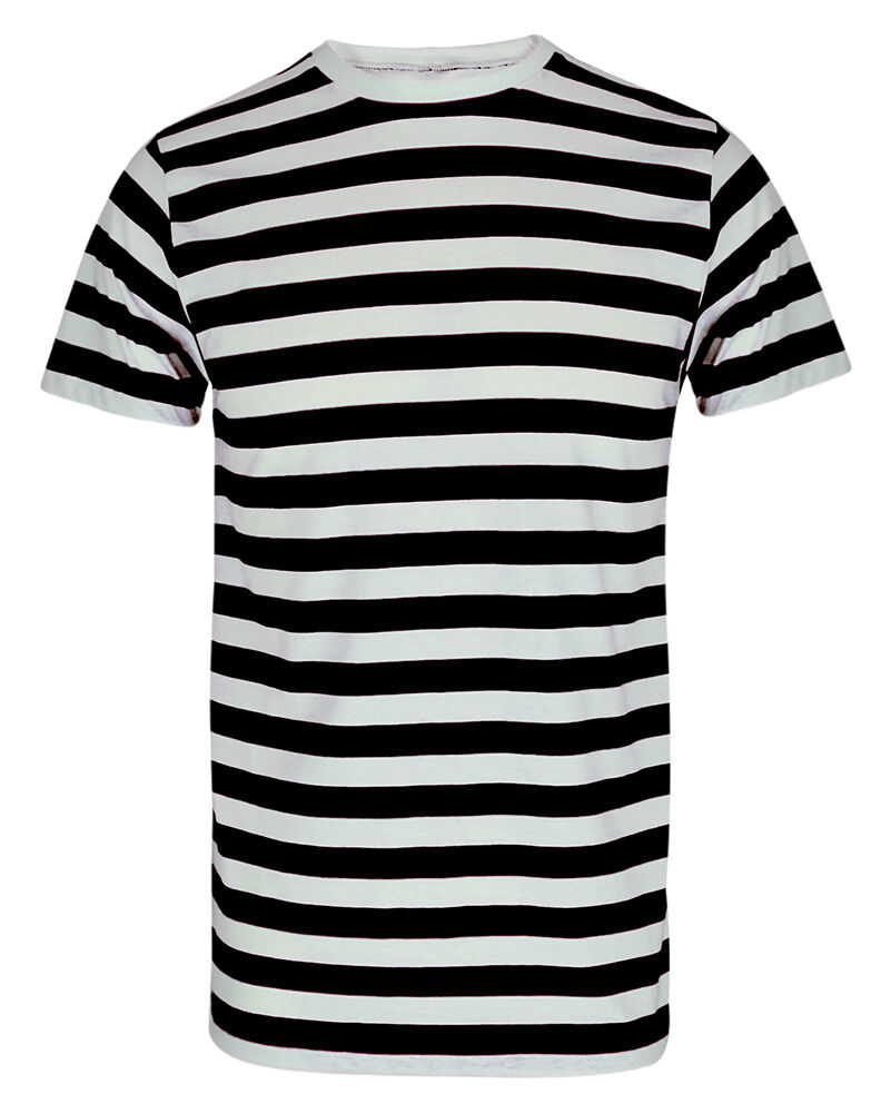 Boys mens red and white stripe tshirt black blue stripe for Mens red and white striped dress shirt