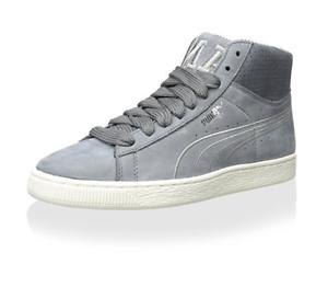 PUMA Men's States Mid X Vashtie Hightop Sneaker,Light Grey,Size:7 US
