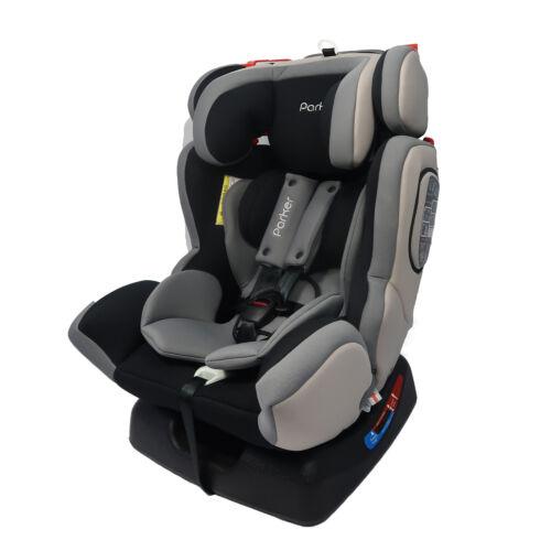 PARKER Grigio Bambino Baby Seggiolino auto età 0-12 Sicurezza Sedile Booster Group 0//1//2//3