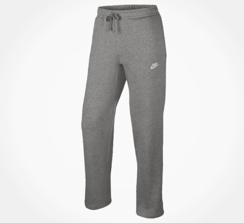 Nwt Herren Nike Groß & Hochgewachsen Club Fleece-Hose Offener Saum 804395 063