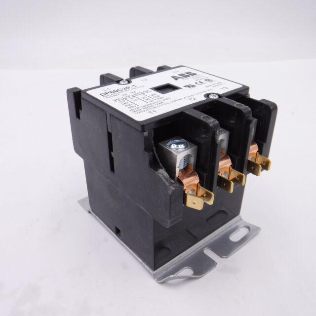 ABB DP60C3P-1 Definite Purpose Contactor 60A 3P 120V Coil
