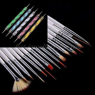 20 pcs Nail Art Brush Dotting Pen Set Tip Manicure Tool Professional Decoraction