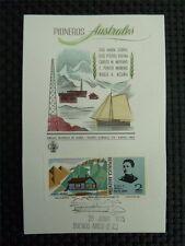 ARGENTINA MK 1975 ANTARCTIC SOUTH POLE MAXIMUMKARTE MAXIMUM CARD MC CM c1878