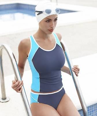Panache Swimwear Holly Underwired Tankini Top Black SW0621 NEW Select Size