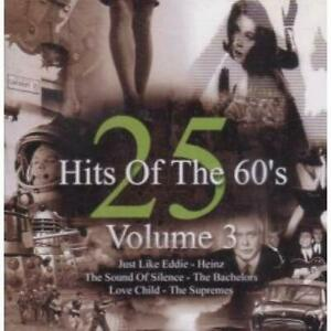 Various-25-Hits-Of-The-60-039-s-Volume-3-CD-2001