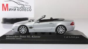 Scale-Car-1-43-Mercedes-Benz-SL-Class-AMG-2006-Silver
