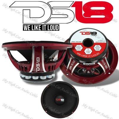 "DS18 PRO NEO6SLIM 6.5/"" Shallow Midrange Speaker 400W Max Neodymium Single"