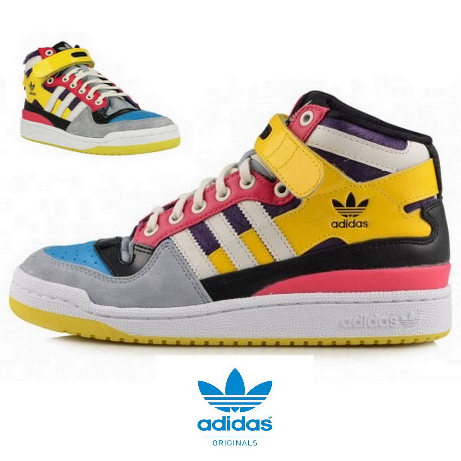 Adidas FORUM MID W Damen Turnschuhe MultiFarbe M25100