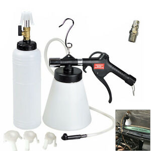 NEW-1L-Air-Brake-Bleeder-Kit-Pneumatic-Clutch-Vacuum-Hydraulic-Fluid-Fill-Bottle