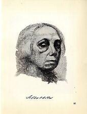 Käthe Kollwitz Werke: 2 Selbstbilder Historische Grafik 1930