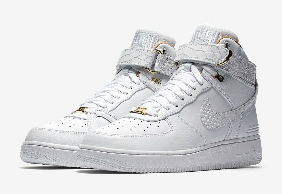 NIKE AIR FORCE 1 HI JUST DON AO1074-100 WHITE LIMITED SIZE 12, 13 W/Receipt