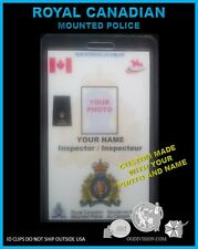 ROYAL CANADIAN MOUNTED POLICE   OO DIVISION COLLECTOR..... ID BADGE