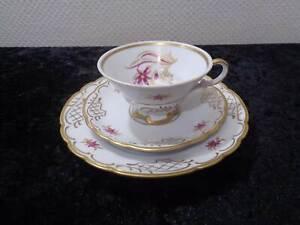 3-Pieces-Porcelaine-Couvert-Collection-Uhlstadt-Vintage-Um-1930-40