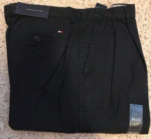 NWT Tommy Hilfiger Men/'s pants black green white