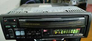 Alpine 3de-7886s 3 cd magazine old school in-dash cd changer receiver car stereo