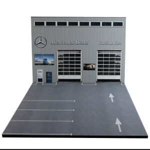 Diorama-Mercedes-Benz-Truck-amp-Van-1-50eme-50-2-E-BF-001
