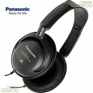 Panasonic-DJ-Style-Volume-Control-Monitor-Over-Ear-Headphones-Black-RP-HT225