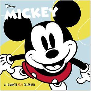 "Mead 2021 Disney Mickey Mouse Mini Wall Calendar, 7"" x 7 ..."