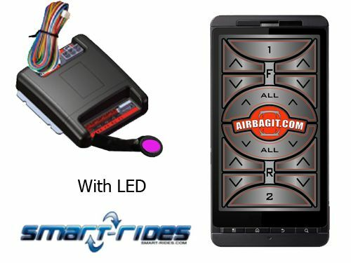 Smart I-Phone Air Suspension Controller works any Air Suspension,wire to valves