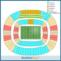 2014 World Cup Tickets 06/29/14 (Fortaleza) - Cat 1!